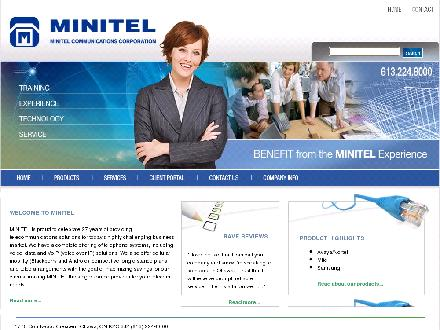 Minitel Communications Corporation (613-699-2319) - Website thumbnail - http://www.minitel.ca
