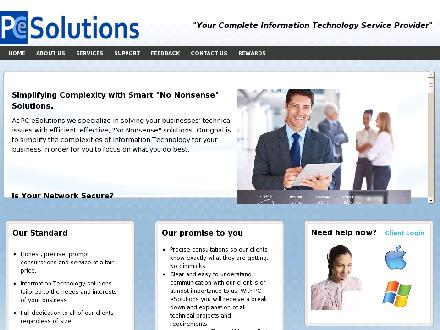 PC eSolutions (403-879-8643) - Onglet de site Web - http://www.pcesolutions.ca