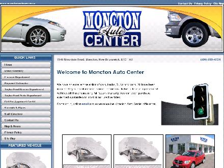 Moncton Auto Center (506-859-4724) - Onglet de site Web - http://www.monctonautocenter.ca
