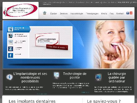 Centre D'Implantologie Tremblay Marc Dr (514-899-9991) - Website thumbnail - http://www.mesimplants.com