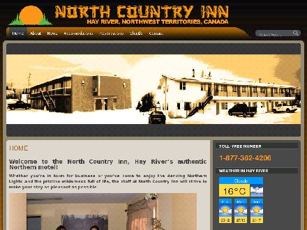 North Country Inn (867-874-6706) - Onglet de site Web - http://www.ncinn.net