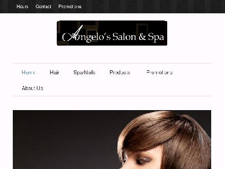 Angelo's Salon & Spa (604-461-4247) - Website thumbnail - http://www.angelossalonandspa.com