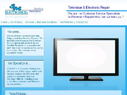 S M Electronics (403-932-3857) - Website thumbnail - http://www.smelectronics.ca