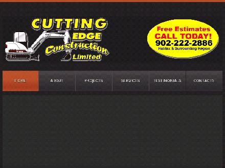 Cutting Edge Construction Limited (902-702-2101) - Onglet de site Web - http://www.cuttingedgeconstruction.org/