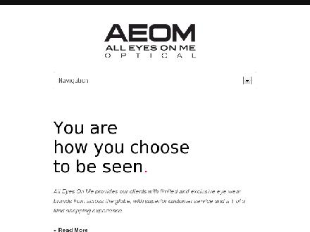 All Eyes On Me (905-878-3200) - Website thumbnail - http://www.all-eyesonme.com