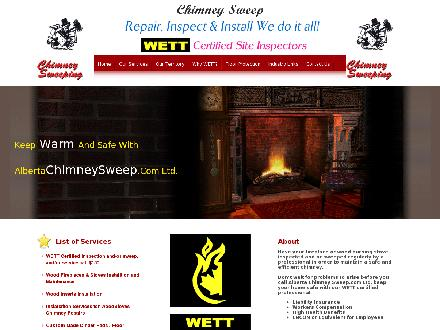 Alberta Chimney Sweep.com Ltd (403-391-2124) - Website thumbnail - http://www.albertachimneysweep.com