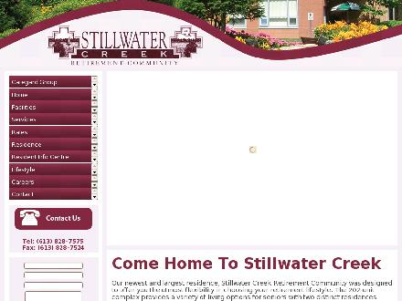 Stillwater Creek Retirement Community (613-828-7575) - Website thumbnail - http://www.stillwatercreek.ca