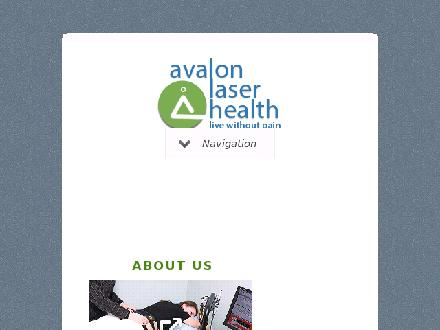 Avalon Laser Health (709-753-0155) - Onglet de site Web - http://www.chiropractorstjohnsnl.ca