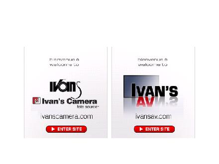 Ivan's Camera Ltd (506-857-4018) - Website thumbnail - http://www.ivanscamera.com