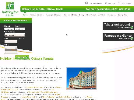 Holiday Inn & Suites Ottawa Kanata (613-271-3057) - Website thumbnail - http://www.hisottawa.ca