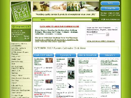 Know Your Body Best Superstore (416-367-3744) - Website thumbnail - http://www.knowyourbodybest.com