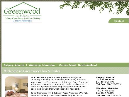 Greenwood Inn & Suites (709-634-5381) - Website thumbnail - http://www.greenwoodinn.ca