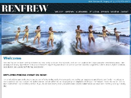 Renfrew Power Sports (403-253-6933) - Website thumbnail - http://www.renfrewmarine.ca