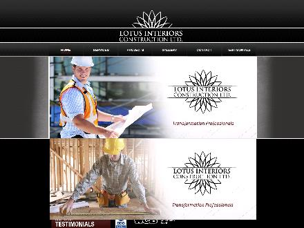 Lotus Interiors Construction Ltd (780-452-9655) - Website thumbnail - http://www.lotusconstruction.ca