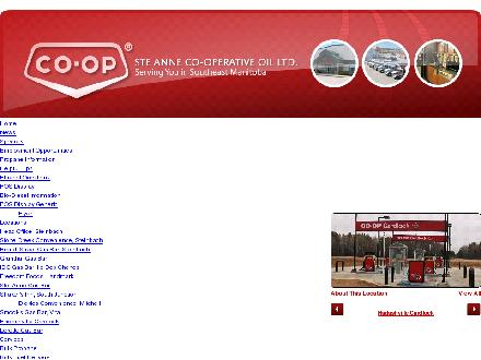 Ste Anne Co-op Oil Limited (204-346-2667) - Onglet de site Web - http://www.stacoop.com