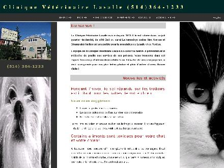 Clinique Vétérinaire Lasalle (514-364-1233) - Website thumbnail - http://www.cliniqueveterinairelasalle.com