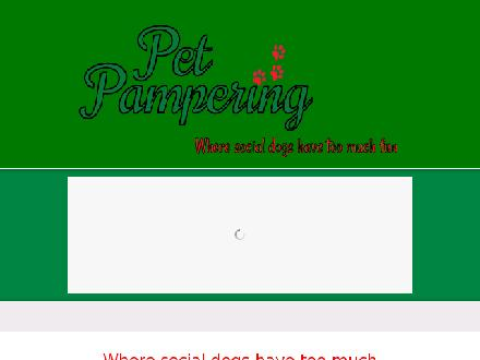 Pet Pampering (250-381-5889) - Onglet de site Web - http://www.pet-pampering.com