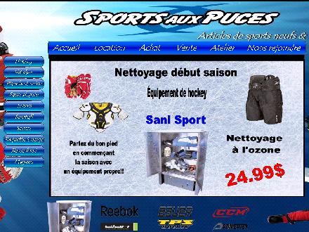 Sports aux Puces Quebec (418-688-9889) - Website thumbnail - http://www.sportsauxpucesquebec.com/