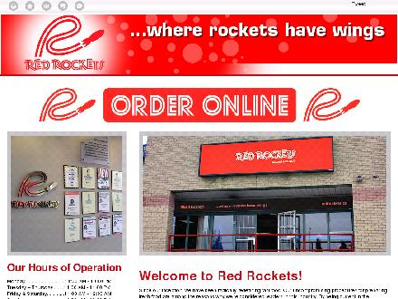 Red Rockets (905-318-9555) - Website thumbnail - http://redrockets.ca/