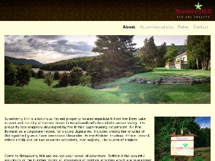 Strawberry Hill (709-634-0066) - Onglet de site Web - http://www.strawberryhill.ca