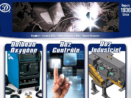 Dolbeau Oxygène Inc (418-276-0554) - Website thumbnail - http://www.do2.ca