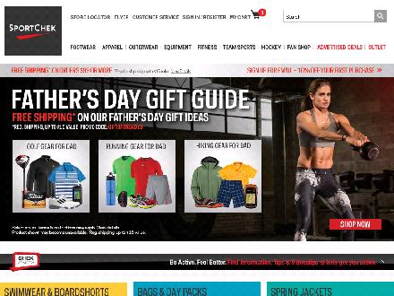 Sportchek.ca - Onglet de site Web - http://www.sportchek.ca