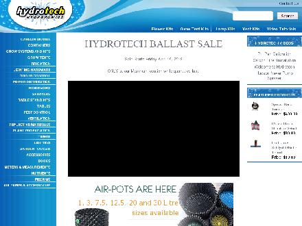 Hydrotech Hydroponics Limited (416-267-4769) - Onglet de site Web - http://www.hydrotechhydroponics.com