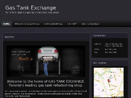 Gas Tank Exchange (647-691-0754) - Website thumbnail - http://www.gastankexchange.com