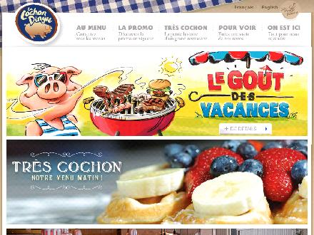 Cochon Dingue (Le) (418-692-2013) - Onglet de site Web - http://www.cochondingue.com