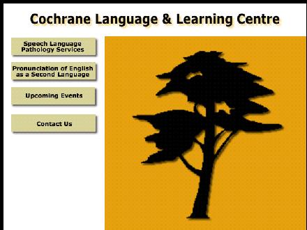 Cochrane Language & Learning Centre (403-932-9277) - Website thumbnail - http://www.cochranecentre.com