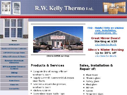 R W Kelly Thermo Ltd (506-778-8338) - Onglet de site Web - http://www.rwkellythermo.com