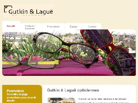 Gutkin &amp; Lagu&euml; (450-655-6020) - Onglet de site Web - http://www.gutkinlague.m2l.ca