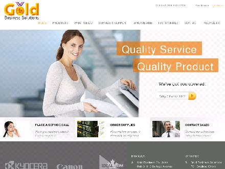 Gold Business Solutions (204-726-1267) - Onglet de site Web - http://www.goldmps.com