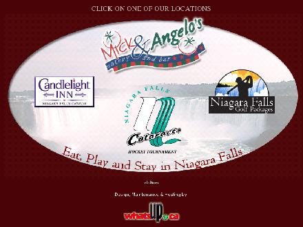 Mick & Angelo's Eatery & Bar (905-357-6543) - Website thumbnail - http://www.micks.ca