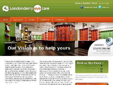 Londonderry Eye Care (780-392-0323) - Website thumbnail - http://www.leyecare.com