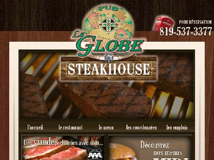 Le Globe Steakhouse (819-537-3377) - Onglet de site Web - http://www.leglobesteakhouse.com