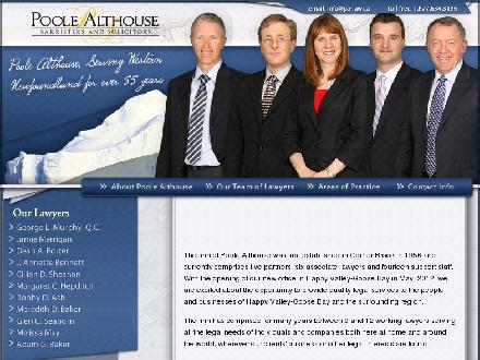 Poole Althouse (1-877-221-8614) - Onglet de site Web - http://www.poolealthouse.ca