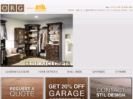 ORG St&iuml;l Design Plus Inc (514-697-3128) - Onglet de site Web - http://www.stildesign.ca