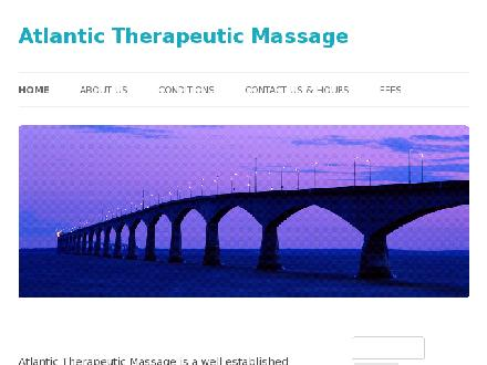 Atlantic Therapeutic Massage (902-892-7334) - Website thumbnail - http://www.atlantictherapeuticmassage.ca