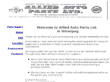 A Aallied Wheels &amp; Covers (204-633-0712) - Onglet de site Web - http://www.alliedauto.ca