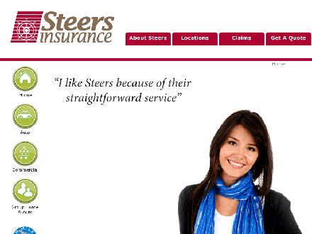 Steers Insurance Limited (1-877-478-3377) - Onglet de site Web - http://www.steersinsurance.com