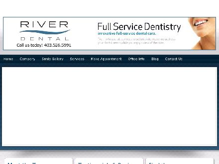 River Dental (403-580-8416) - Onglet de site Web - http://www.riverdental.com