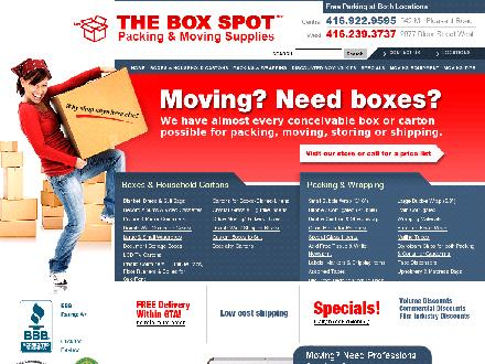 Box Spot The (416-922-9595) - Onglet de site Web - http://www.boxspot.com