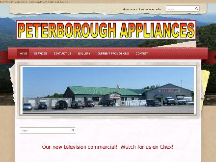 Peterborough Appliances (705-748-9781) - Website thumbnail - http://www.PeterboroughAppliances.com