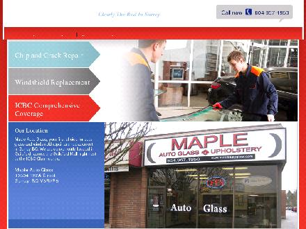 Maple Auto Glass (604-957-1950) - Website thumbnail - http://www.mapleautoglass.com