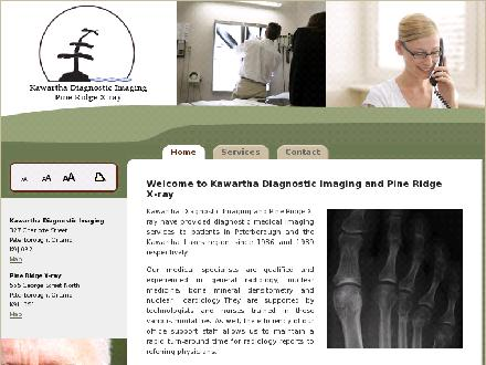 Pine Ridge X-Ray (705-745-1058) - Website thumbnail - http://www.kdi-prx.ca