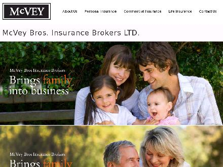 McVey Bros Insurance Brokers Ltd (613-248-0166) - Website thumbnail - http://www.mcveybros.com