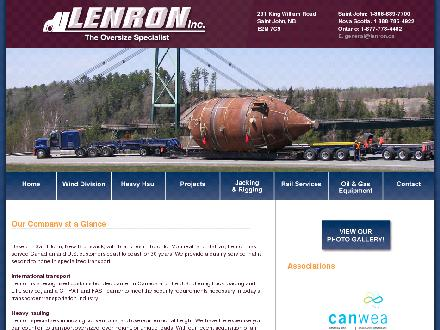 Lenron Inc (506-649-0941) - Onglet de site Web - http://www.lenron.ca
