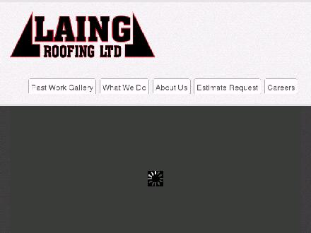 Laing Roofing (250-765-3866) - Website thumbnail - http://www.laingroofing.com
