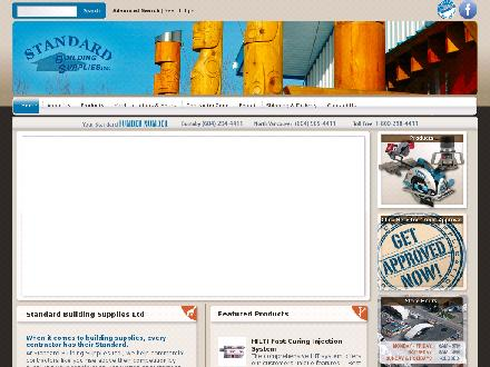Standard Building Supplies (604-294-4411) - Website thumbnail - http://www.standardbuildingsupplies.ca